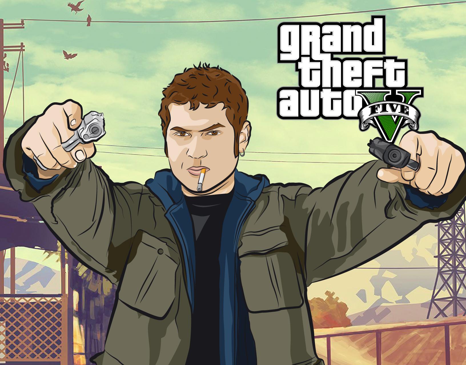 ilustracion GTA
