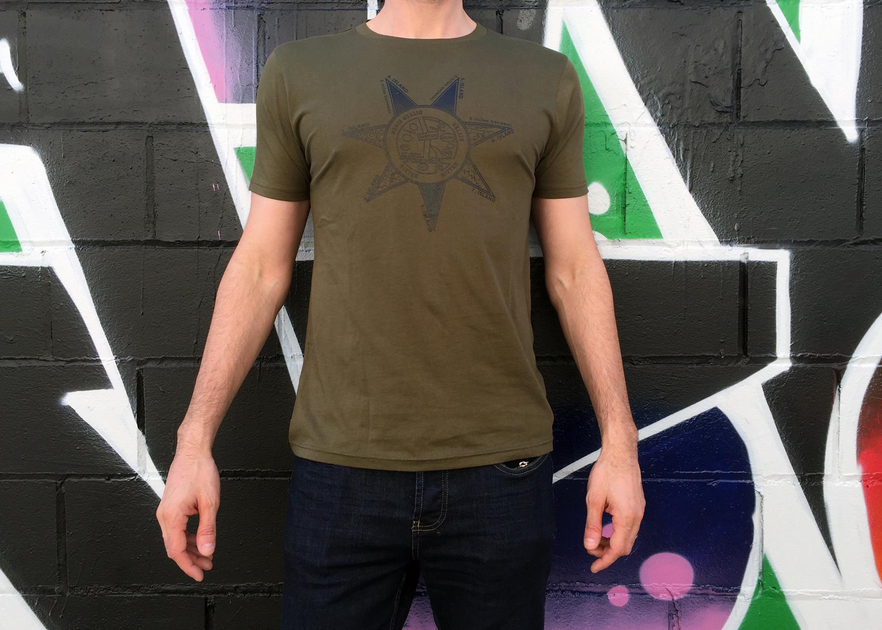 Ilustración de camisetas