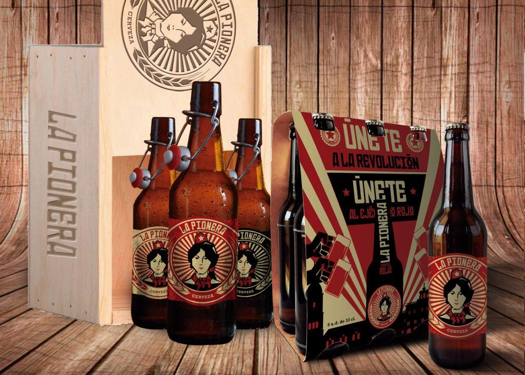 botellines cerveza la pionera
