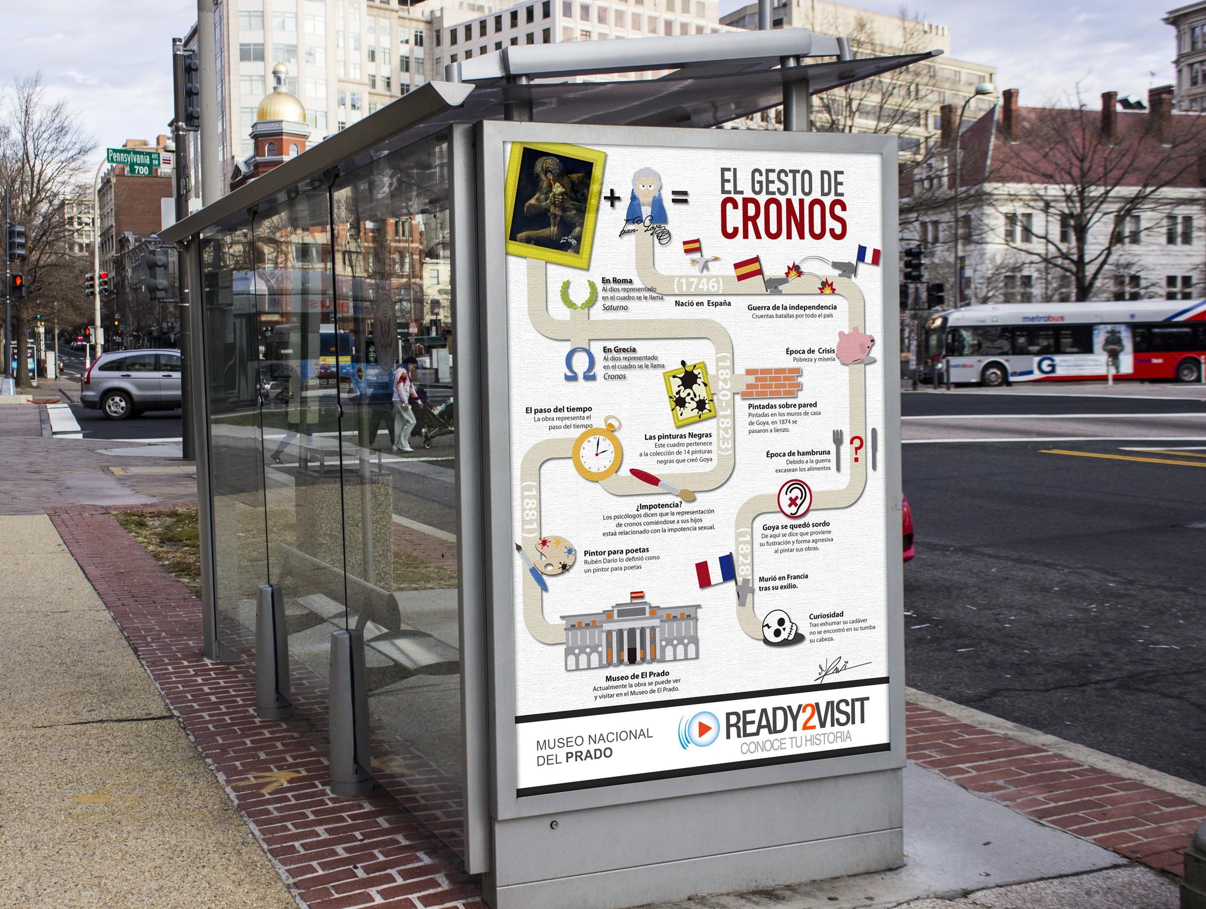 infografía parada bus