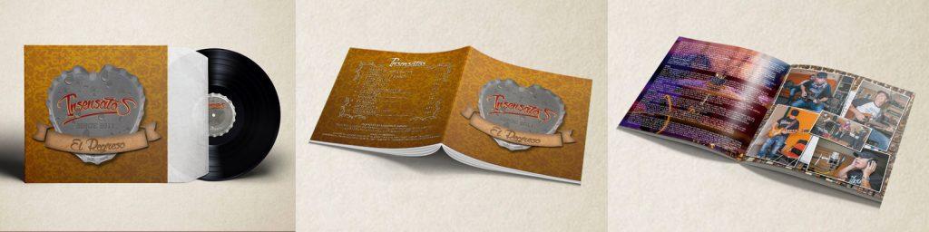 diseño portadas de cd