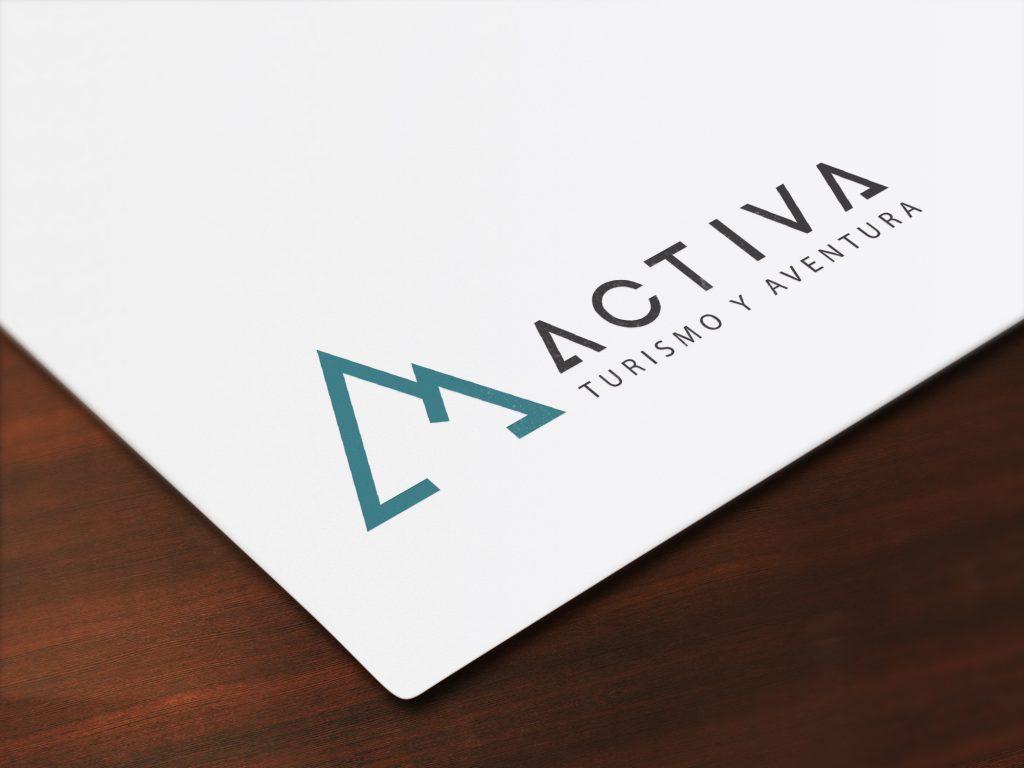 logotipo turismo activa