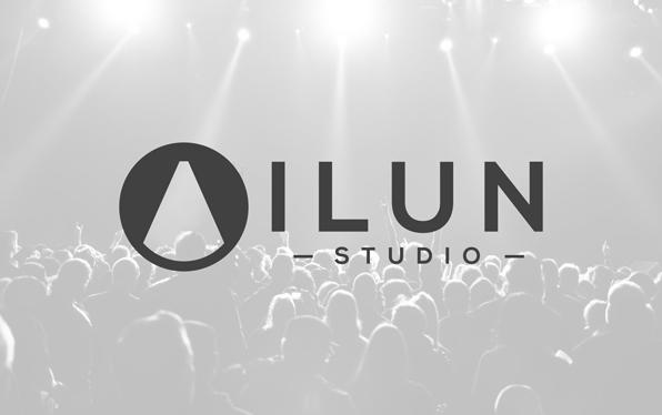 Diseño de logo estudio iluminación escénica.