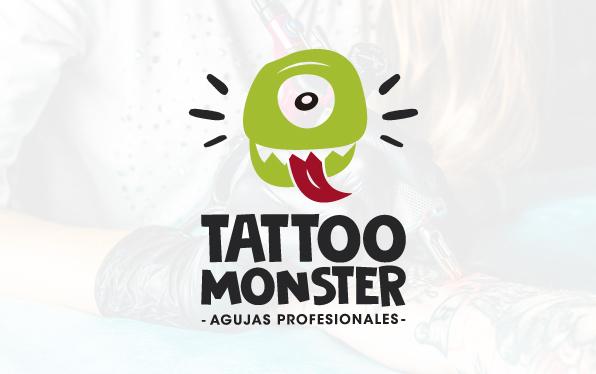 diseño de logo para distribuidor de agujas de tattoo