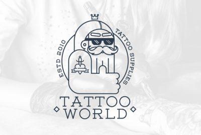 diseño logotipo accesorios para el tatuaje